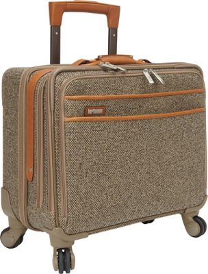 Hartmann Luggage Tweed Collection 18 inch Mobile Office Spinner Tweed - Hartmann Luggage Wheeled Business Cases