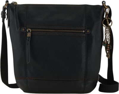 The Sak Sequoia Crossbody Black - The Sak Leather Handbags