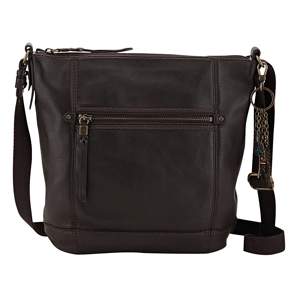 The Sak Sequoia Crossbody Cocoa The Sak Leather Handbags