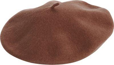Image of Adora Hats Wool Blend Beret Brown - Adora Hats Hats