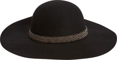 Adora Hats Wool Felt Floppy Hat One Size - Black - Adora Hats Hats