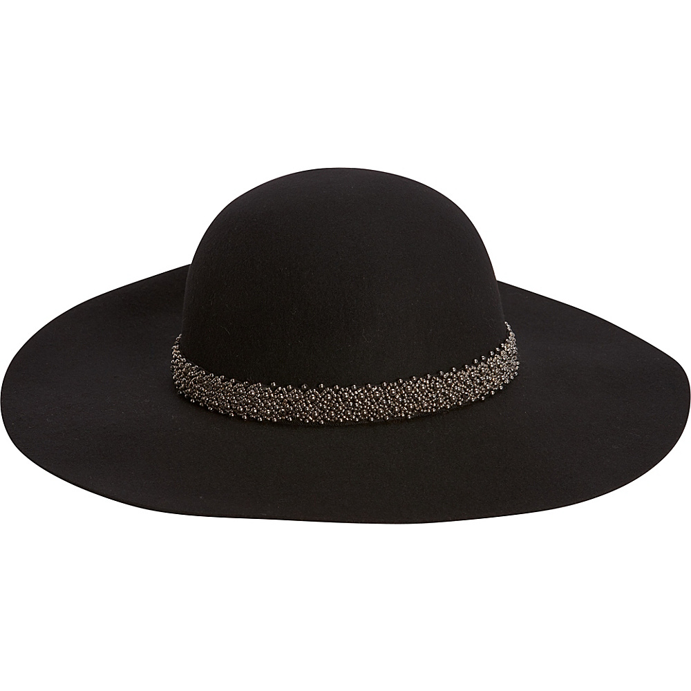 Adora Hats Wool Felt Floppy Hat Black Adora Hats Hats Gloves Scarves