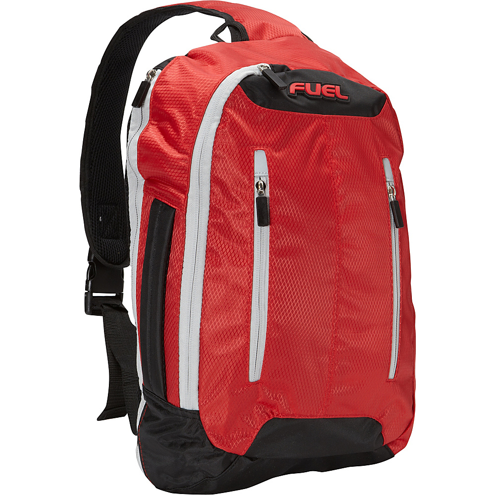 Fuel Active Crossbody Backpack Red Fuel Everyday Backpacks