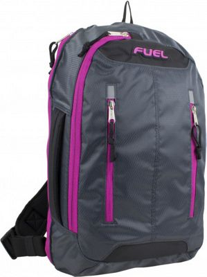 Fuel Active Crossbody Backpack Graphite - Fuel Everyday Backpacks