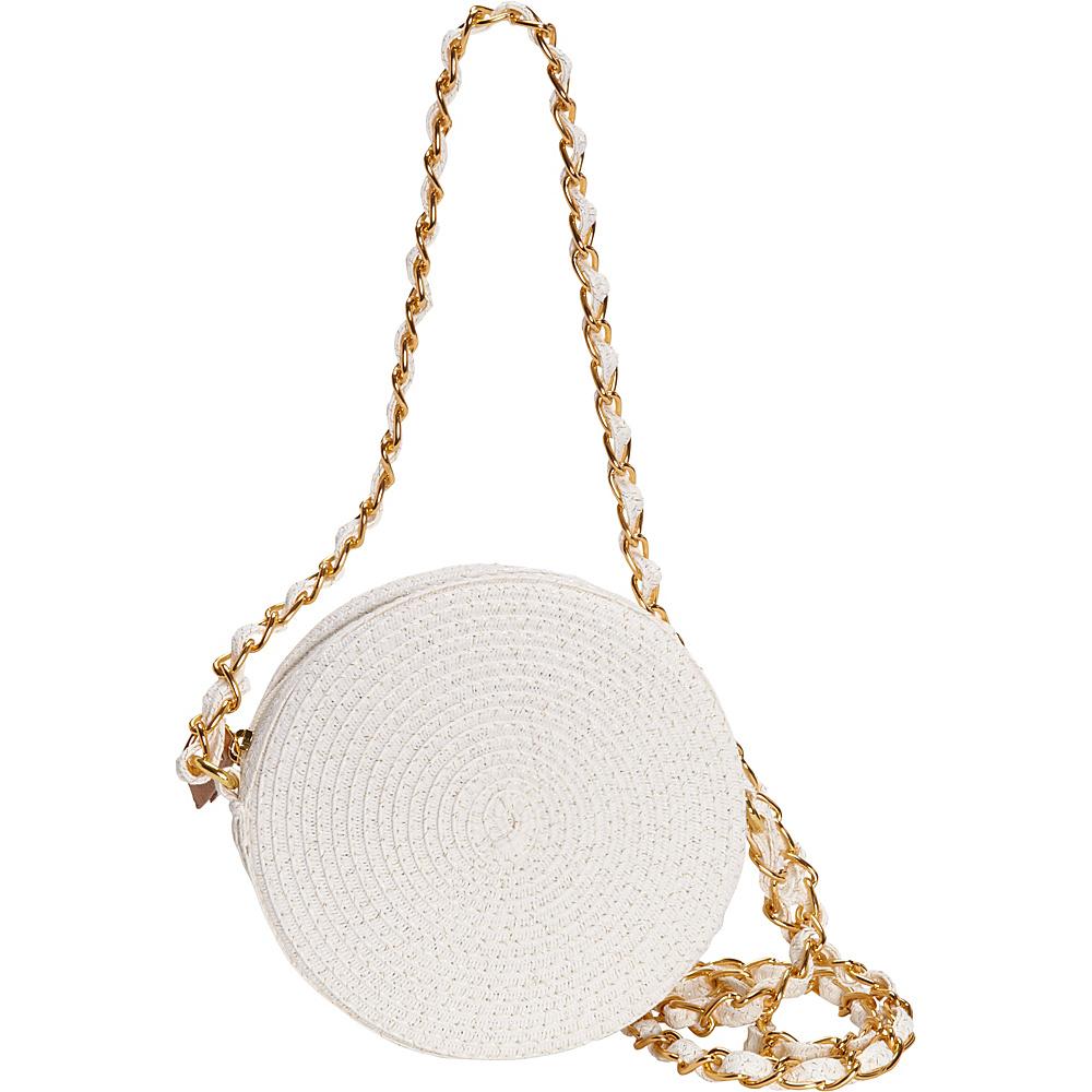 Sun N Sand Saddle Cay Crossbody White/Gold - Sun N Sand Fabric Handbags - Handbags, Fabric Handbags