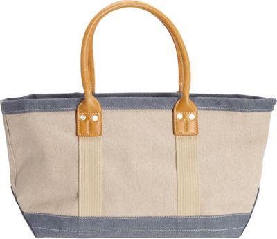 Sun 'N' Sand Montauk Hues Medium Tote Denim - Sun 'N' Sand Fabric Handbags