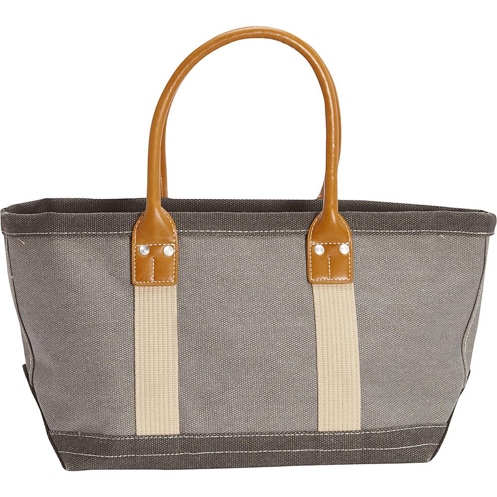 Sun 'N' Sand Montauk Hues Medium Tote Grey - Sun 'N' Sand Fabric Handbags