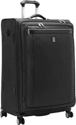 Travelpro Platinum Magna 2 29 inch Expandable Spinner Black - Travelpro Softside Checked