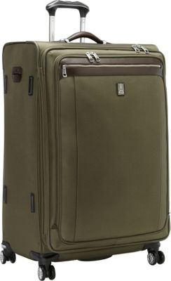 Travelpro Platinum Magna 2 29 inch Expandable Spinner Olive - Travelpro Softside Checked