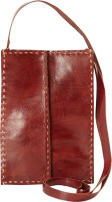 Journey Collection by Annette Ferber Cambridge Cross Body Burgundy - Journey Collection by Annette Ferber Leather Handbags