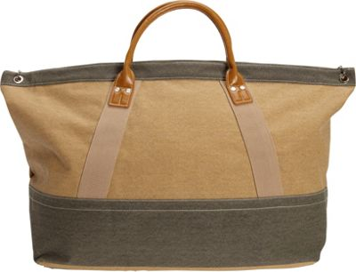 Sun 'N' Sand Wainscott Oversized Tote Khaki - Sun 'N' Sand Fabric Handbags