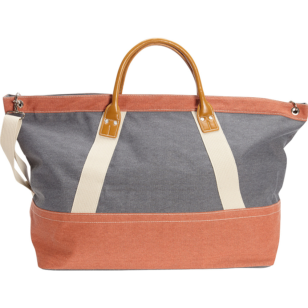 Sun N Sand Wainscott Oversized Tote Blue - Sun N Sand Fabric Handbags - Handbags, Fabric Handbags