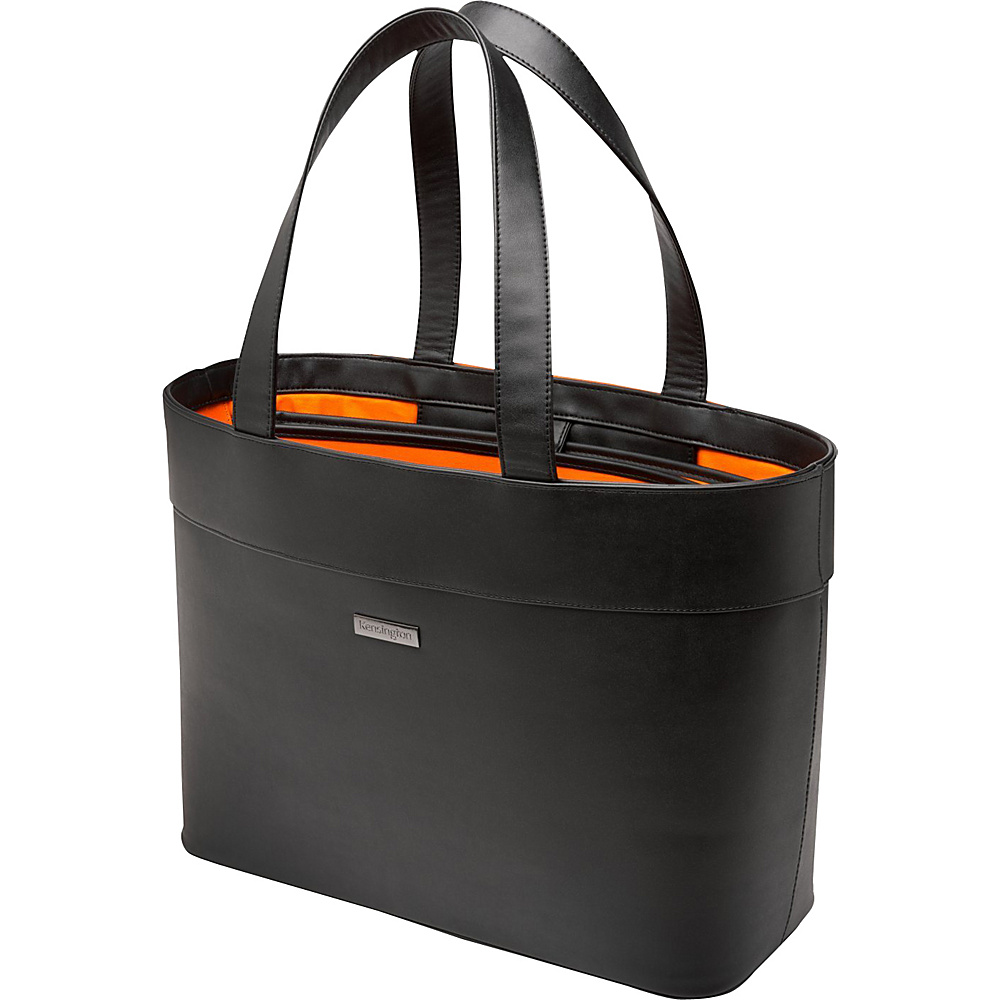 "Kensington Ladies Fashion Laptop Case Tote 15.6"" Black - Kensington Ladies' Business"