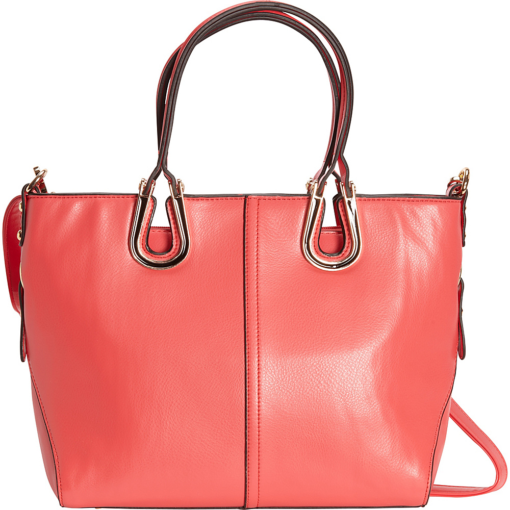 SW Global Candi Tote Bag Red - SW Global Manmade Handbags