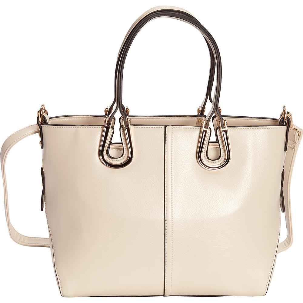 SW Global Candi Tote Bag Beige - SW Global Manmade Handbags