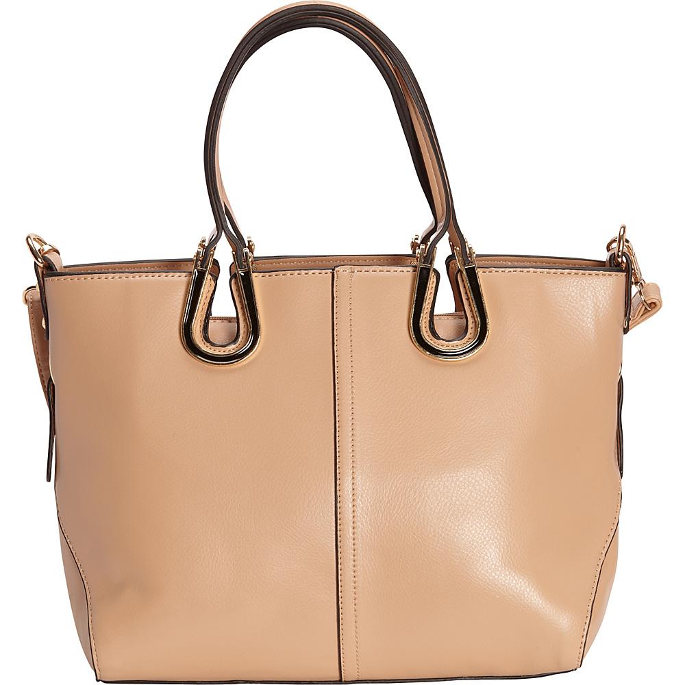 SW Global Candi Tote Bag Khaki - SW Global Manmade Handbags