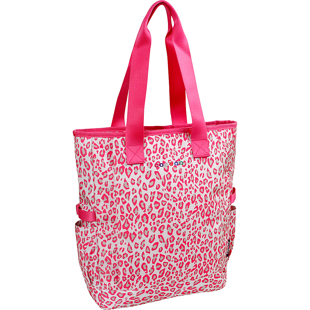 J World New York Emma Tote Leopard - J World New York Fabric Handbags - Handbags, Fabric Handbags