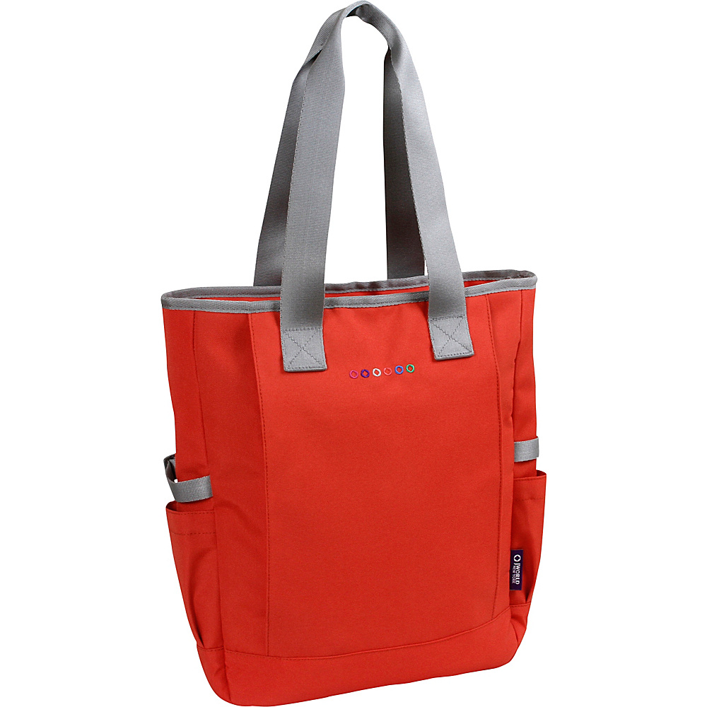 J World New York Emma Tote Orange - J World New York Fabric Handbags - Handbags, Fabric Handbags