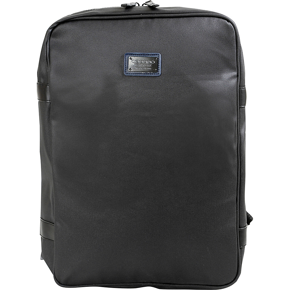 J World New York Amsterdam Business Backpack Black - J World New York Business & Laptop Backpacks - Backpacks, Business & Laptop Backpacks