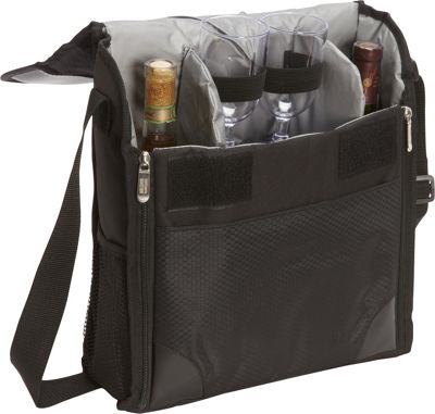 Bellino Vino Wine Tote Black - Bellino Outdoor Accessories