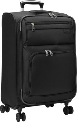 Skyway Sigma 5.0 21 inch 4 Wheel Expandable Carry On Black - Skyway Softside Carry-On