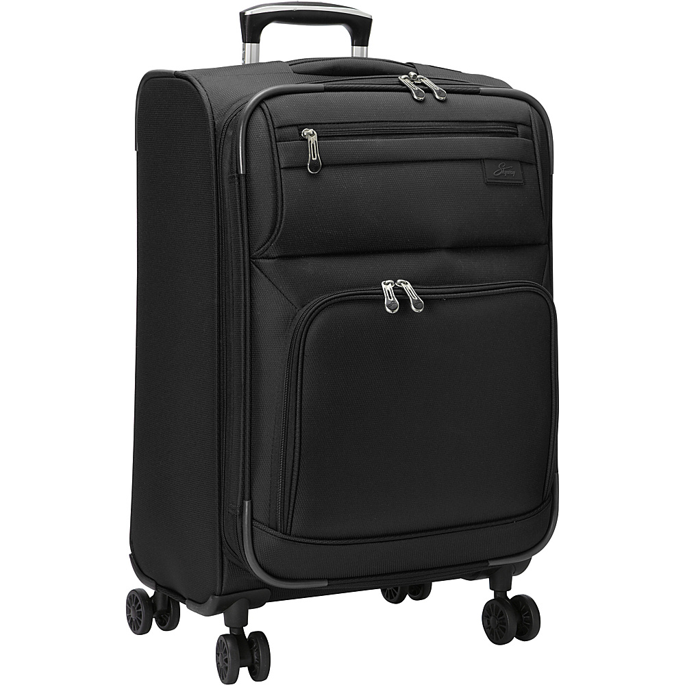 Skyway Sigma 5.0 21 4 Wheel Expandable Carry On Black Skyway Softside Carry On