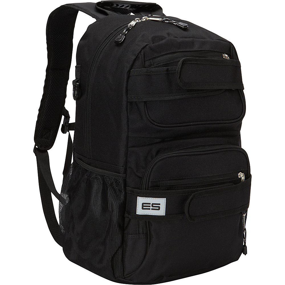 Eastsport Double Strap Skater Backpack Black Eastsport Everyday Backpacks