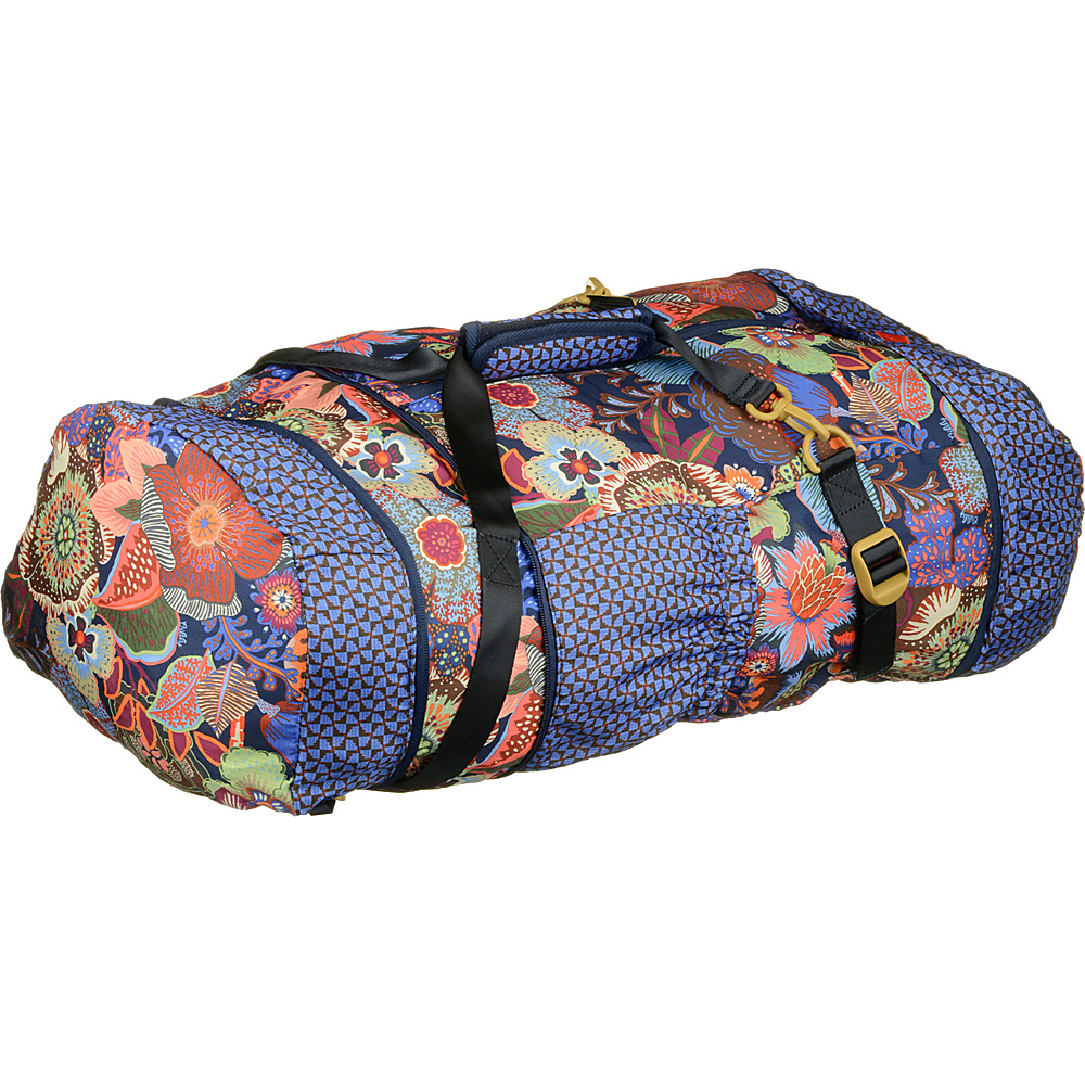 Oilily Folding Duffel-Backpack Blueberry - Oilily All Purpose Duffels