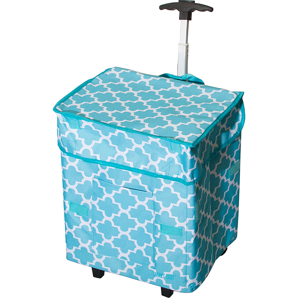 dbest products Trendy Cart Moroccan Tile - dbest products Softside Carry-On