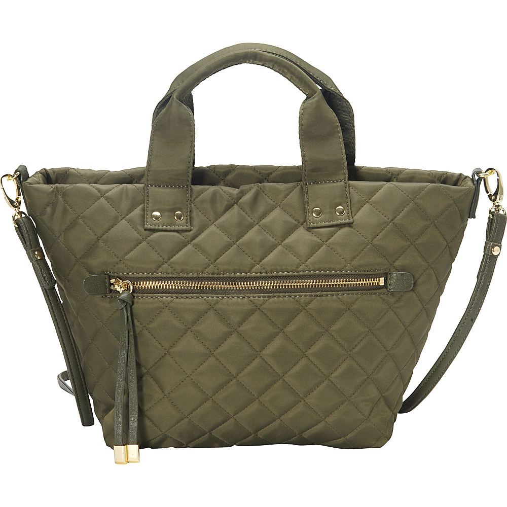 Olivia + Joy Zsa Zsa Mini Tote Army Green - Olivia + Joy Fabric Handbags