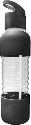 New Wave 20oz Glass Personal Bottle Black - New Wave Hydration Packs and Bottles