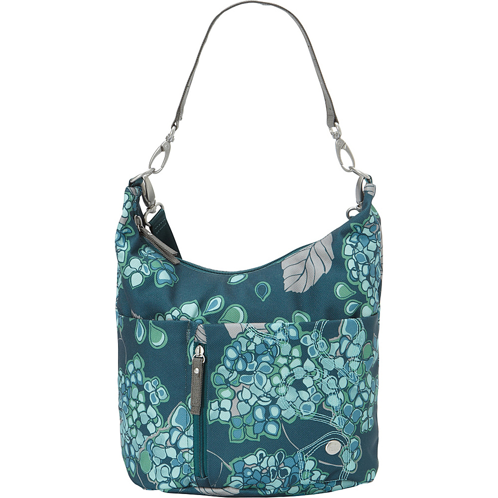 Haiku Ascend Hobo Hydrangea Print Haiku Fabric Handbags