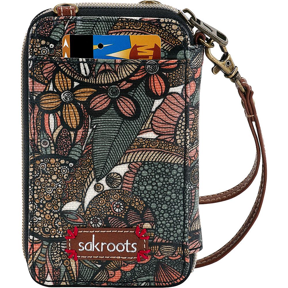 Sakroots Artist Circle Smartphone Wristlet Sienna Spirit Desert - Sakroots Womens Wallets - Women's SLG, Women's Wallets