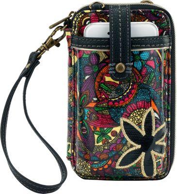 Sakroots Artist Circle Smartphone Wristlet Rainbow Spirit Desert - Sakroots Women's Wallets