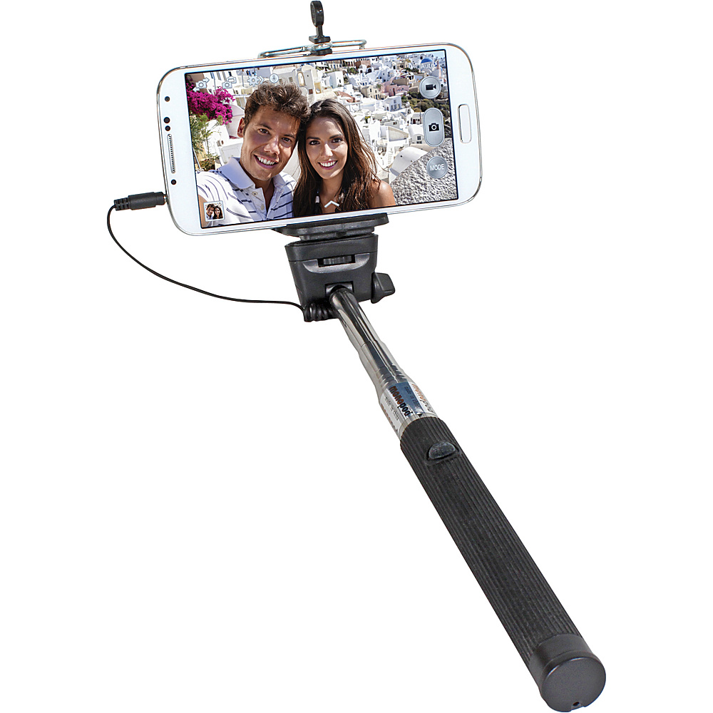 Digital Treasures Selfie ClickStick Extendable Monopod Black Digital Treasures Camera Accessories