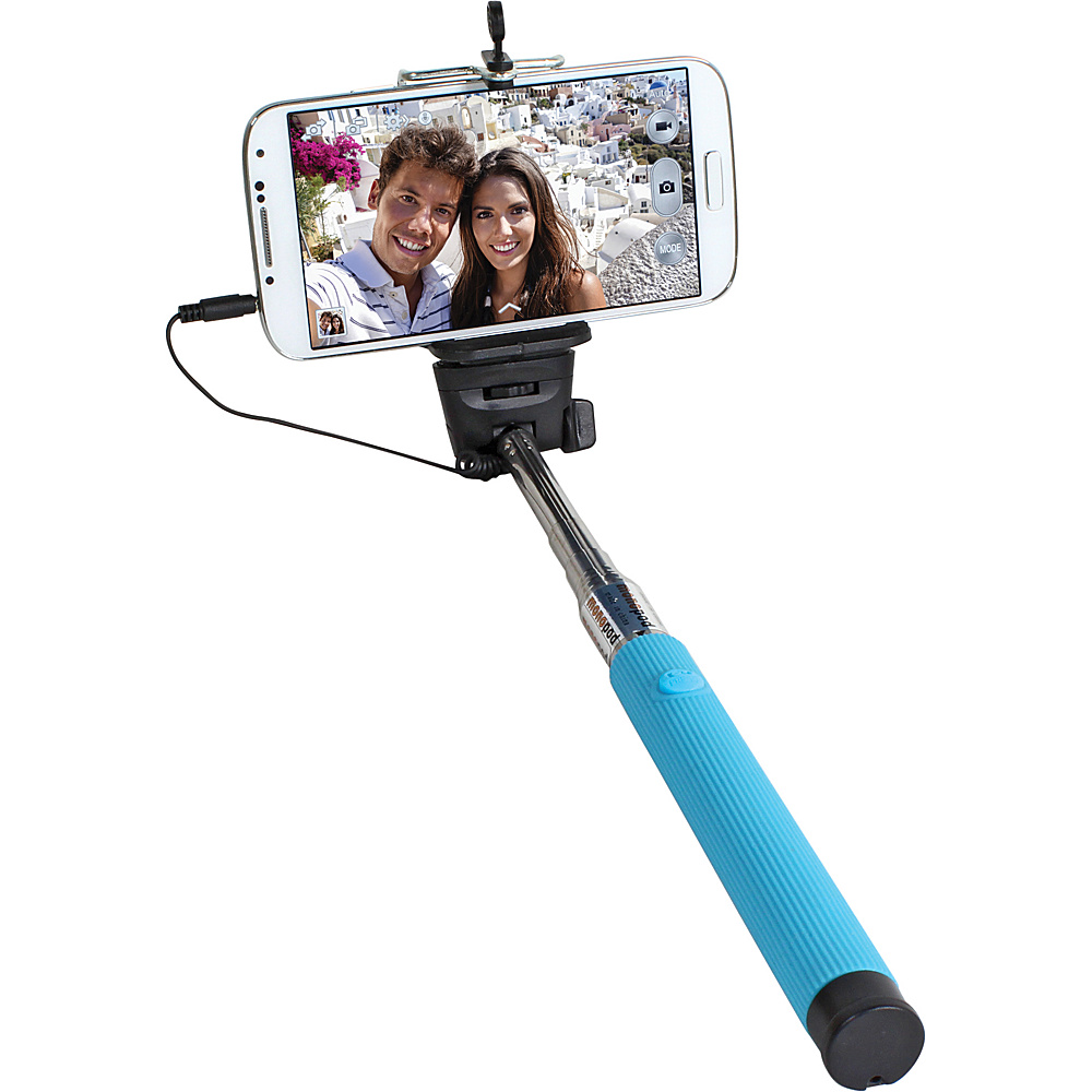 Digital Treasures Selfie ClickStick Extendable Monopod Blue Digital Treasures Camera Accessories