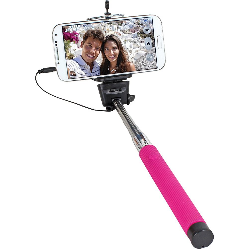 Digital Treasures Selfie ClickStick Extendable Monopod Pink Digital Treasures Camera Accessories