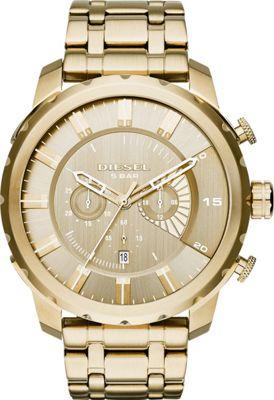 Diesel Watches Stronghold Watch Gold - Diesel Watches Watches