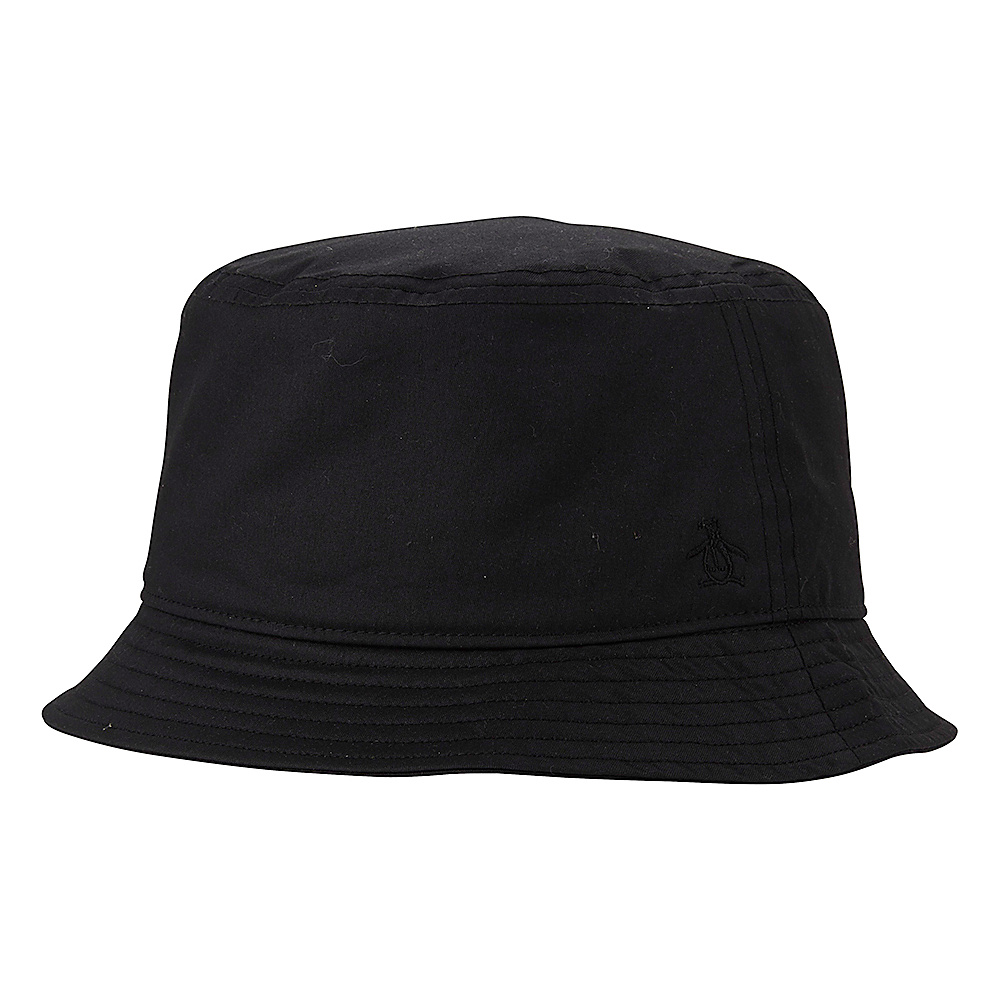 Original Penguin T Dog Bucket Hat Black Small Medium Original Penguin Hats Gloves Scarves