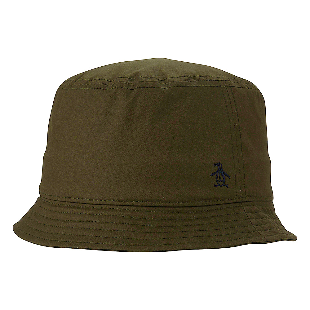 Original Penguin T Dog Bucket Hat Chive Large Extra Large Original Penguin Hats Gloves Scarves