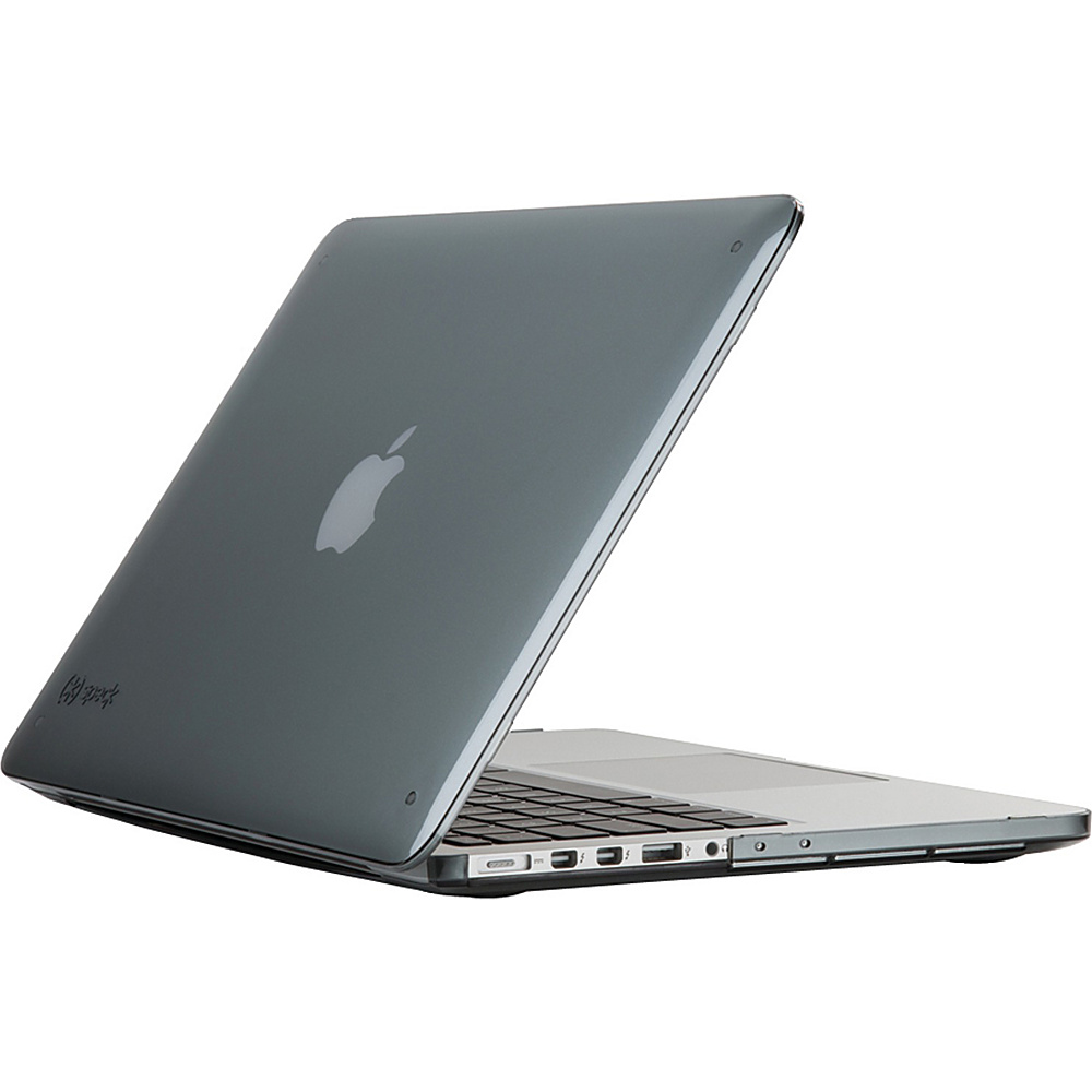 Speck 13 MacBook Pro With Retina Display Smartshell Case Nickel Gray Speck Non Wheeled Business Cases