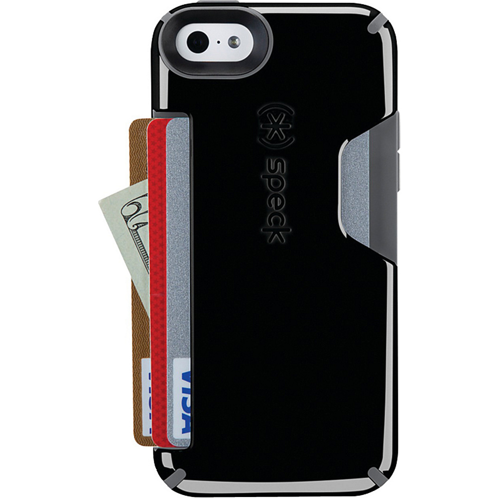 Speck iPhone 5c Candyshell Card Case Black Slate Gray Speck Electronic Cases