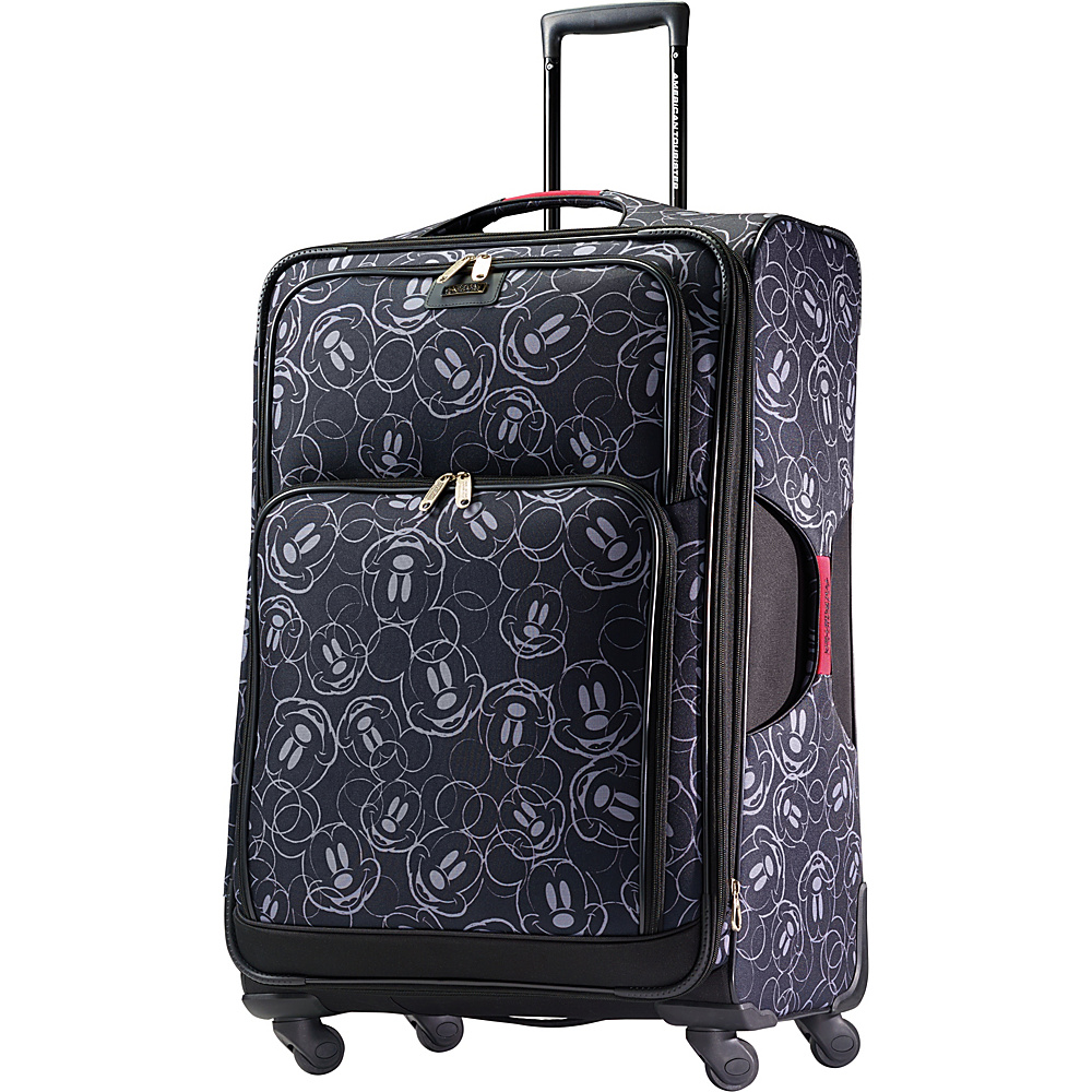 "American Tourister Disney Mickey Mouse Softside Spinner 28"" Mickey Mouse Multi-Face - American Tourister Softside Checked"