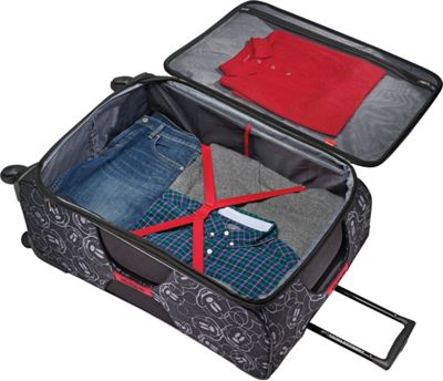 American Tourister Disney Mickey Mouse Softside Spinner 28 inch Mickey Mouse Pants - American Tourister Softside Checked