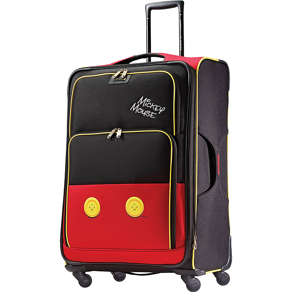 American Tourister Disney Mickey Mouse Softside Spinner 28 Mickey Mouse Pants American Tourister Softside Checked