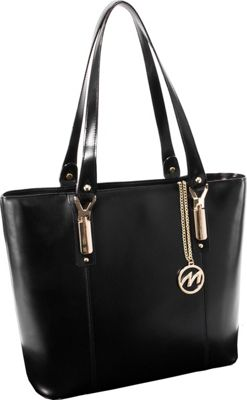 McKlein USA Savarna Tote Black - McKlein USA Women's Business Bags