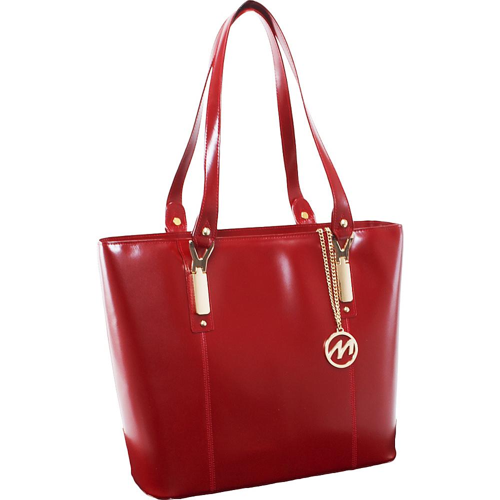 McKlein USA Savarna Tote Red McKlein USA Women s Business Bags