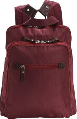 Osgoode Marley Osgoode Marley Backpack Cranberry - Osgoode Marley Fabric Handbags