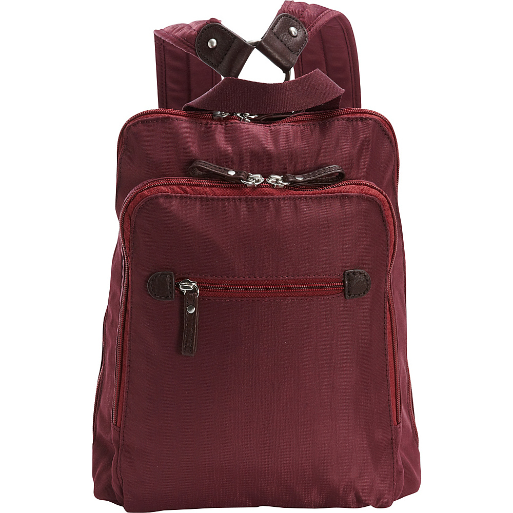 Osgoode Marley Backpack Cranberry Osgoode Marley Fabric Handbags