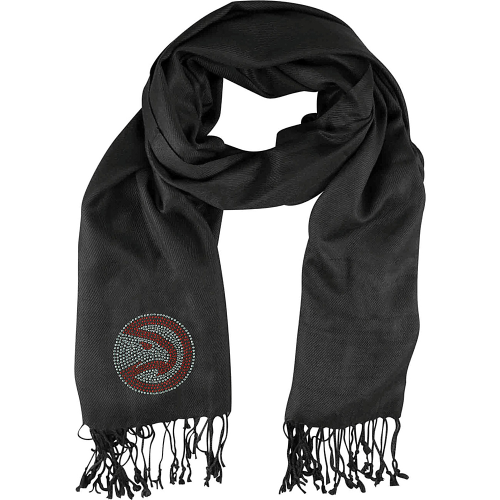 Littlearth Pashi Fan Scarf - NBA Teams Atlanta Hawks - Littlearth Hats/Gloves/Scarves - Fashion Accessories, Hats/Gloves/Scarves